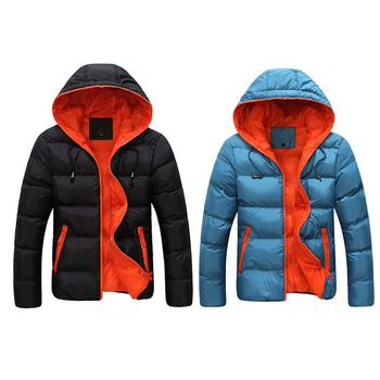 Пуховик, в осень зима держать тёплый мужчины хлопок куртки пальто размер M-XXXXL