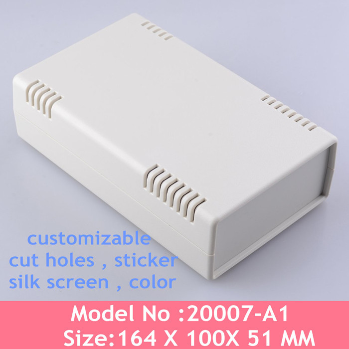 8 pcs/lot electronic box plastic enclosures electronics project case junction 164 x100x51MM - China Quality Enclosure store