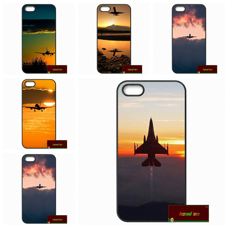 Plane Sunset Glow Theme Cover case iphone 4 4s 5 5s 5c 6 6s plus samsung galaxy S3 S4 mini S5 S6 Note 2 3 F0274  -  The baby spiders store