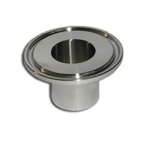 1'' 25mm OD Sanitary Triclamp Ferrule Tri Clover Stainless Steel 304(China (Mainland))