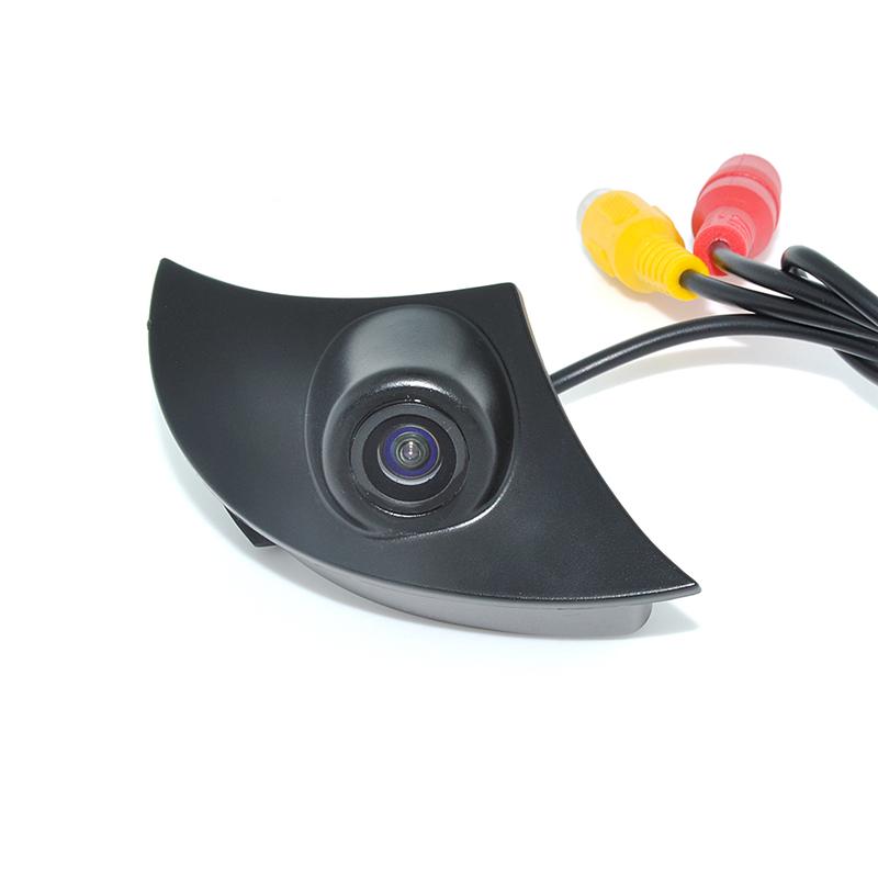 2015 HD CCD Car Front View Camera for Toyota RAV4/Corolla/Camry/Prado/Land Cruiser/Avensis/Auris Car Front Camera(China (Mainland))