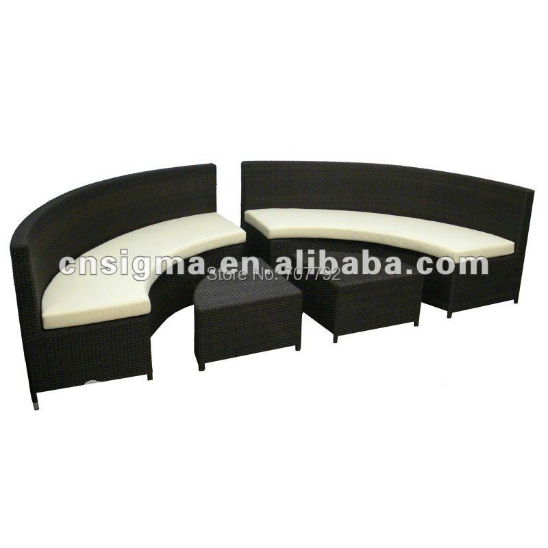 Outdoor All-Weather rattan outdoor sofa furniture(China (Mainland))