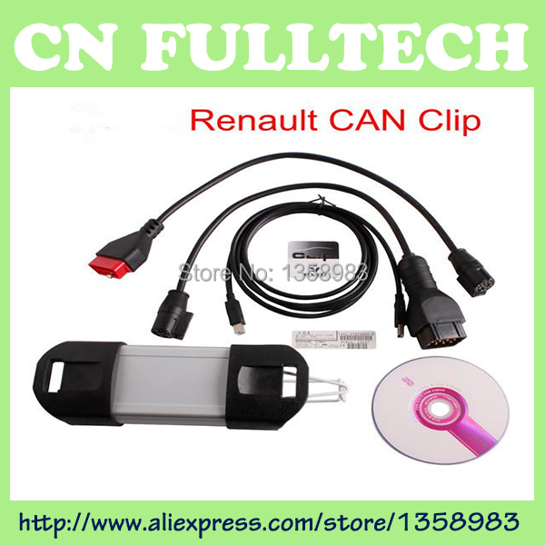 2015 Newest support multi-languange Car Diagnostic tools Renault Can Clip V149 Auto Diagnostic interface(China (Mainland))