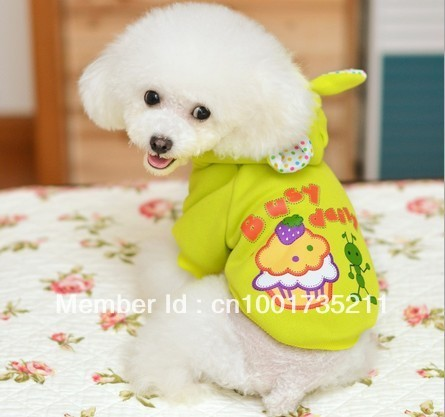 lovely fashionable cake cotton sweater for dog winter clothes