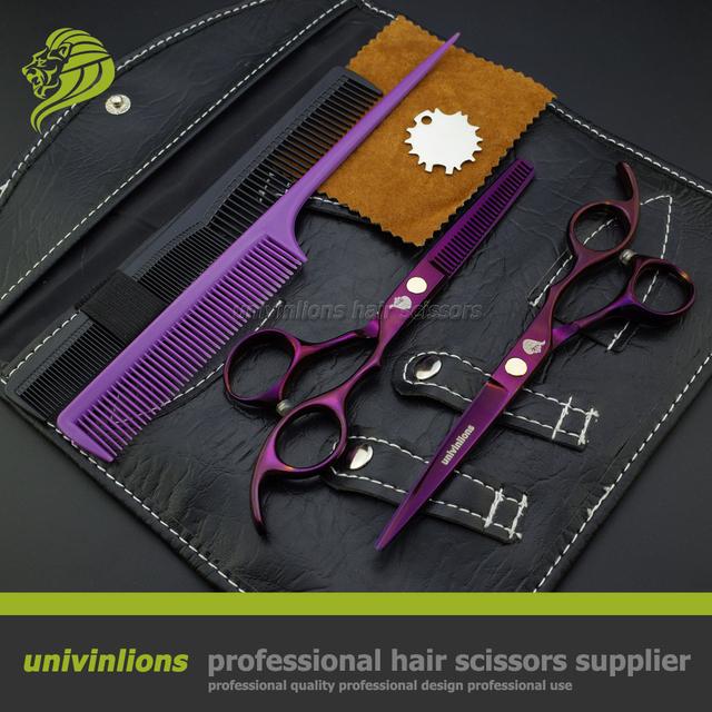 """6 """" 440C фиолетовый япония ножницы парикмахерская поставки профессиональный ..."""