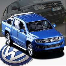 Buy New Volkswagen AMAROK pickup 1:32 kids toy car model truck pull back sound light alloy transport van Fast & Furious for $16.26 in AliExpress store