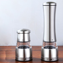 Brand New Manual Pepper Mill Stainless Steel Salt & Pepper Grinder with Adjustable Fineness Setting(China (Mainland))