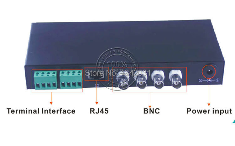 Active Video Balun 4CH for CCTV DVR System, Receiver with power required, High Quality CE Approved(China (Mainland))