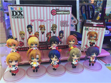 New 9pcs Cute Love Live! Anime School Idol Project Boxed PVC Action Figure Collection Model Toy (9pcs per set) KA096