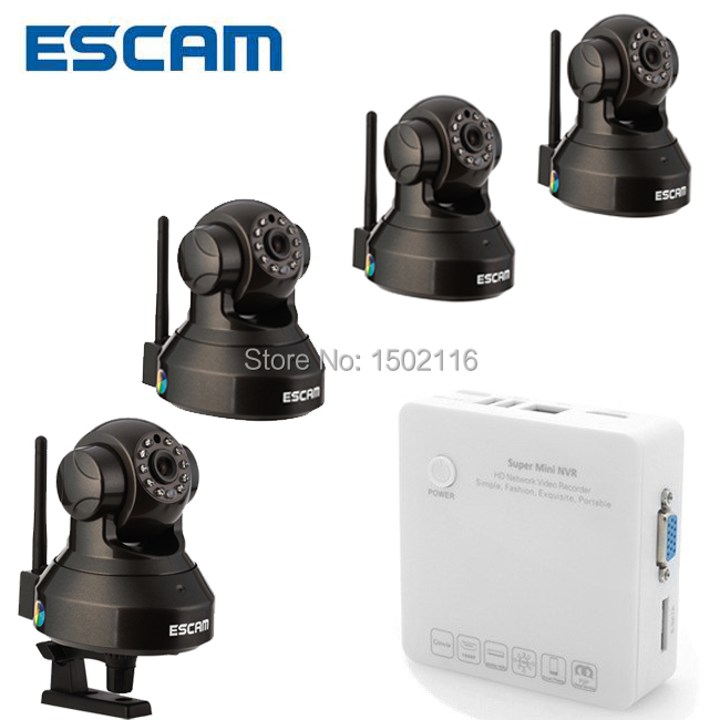 Здесь можно купить  ESCAM QF100 720p night vision Hi processor wireless ip camera free DDNS support SD card with mini NVR K104 DHL free shipping ESCAM QF100 720p night vision Hi processor wireless ip camera free DDNS support SD card with mini NVR K104 DHL free shipping Безопасность и защита