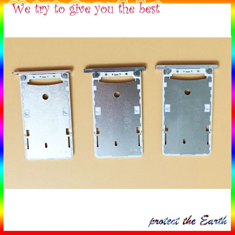 10Pcs/Lot, Original New For Xiaomi Redmi 3 3S Micro SD Card Slot Tray Socket Adapter Repalcement Parts