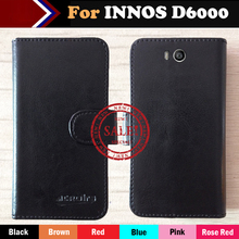 2017 INNOS D6000 Case Factory Price 6 Colors Fashion Slip Leather Exclusive Case For INNOS D6000 Protective Phone Cover