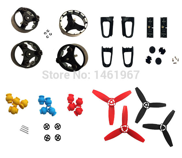 bebop drone 3.0 Spare Parts motor housing rubber ball foot and propeller(China (Mainland))