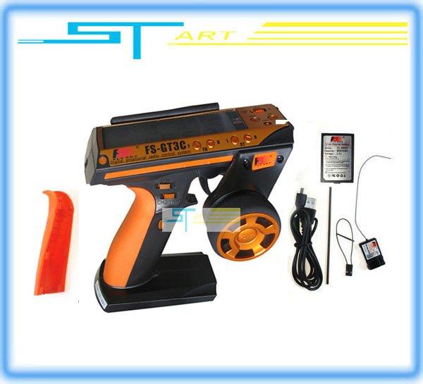 2012 Flysky FS-GT3C FS GT3C 2.4G 3CH Gun RC Transmitter