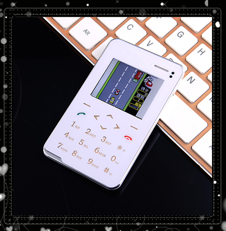 2016 Evertones V5 Mini music card phone 1.8' Ultra Thin AIEK V5 touch keyboard mobile phone Christmas kid Gift pocket Cell phone(China (Mainland))
