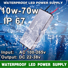 Buy LED Driver Transformer Power Supply 10W 20W 30W 50W 70W AC 100-265V To DC 20-38V IP67 Waterproof LED Driver For LEDS Flood Light for $3.02 in AliExpress store
