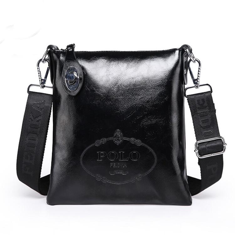 2015 New Men Messenger Bags Low Price Leahter Business Casual Bags Men s Single Shoulder Bag