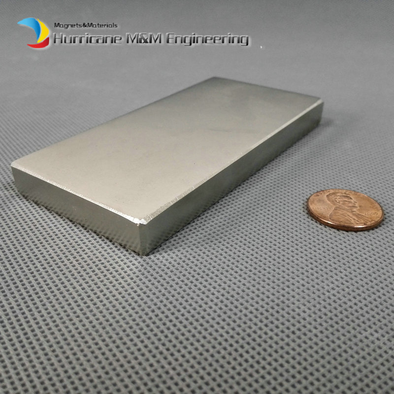 N52 NdFeB Block 100 x 50 10mm bar Strong Neodymium Permanent Magnets Rare Earth Industry Magnet