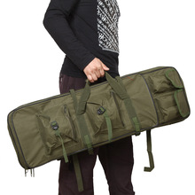 """85cm / 33.5"""" Outdoor Military Tactical Hunting Gun Bag Riflescope Pack Square Carry Bag Protection Case Hunting Gun Accessories(China (Mainland))"""