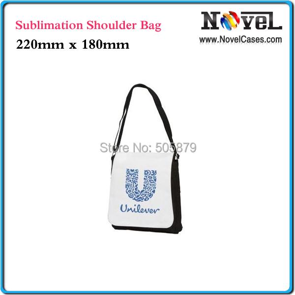 Free Shipping Small Sublimation Shoulder Bag, Sublimation Canvas Bag, Blank Bags(China (Mainland))