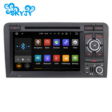 7 Inch Car DVD Player GPS Navigation Radio Audio For Audi A3 Quad Core 1024*600 Android 5.1.1 GPS Capacitive Touch Screen Radio(China (Mainland))