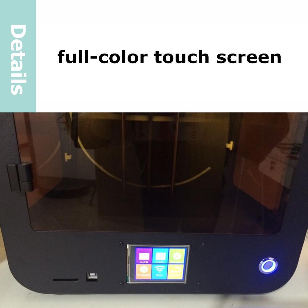 Здесь можно купить  MiniII 3D Printer  no heatbed, touchscreen with single-extruder   Компьютер & сеть