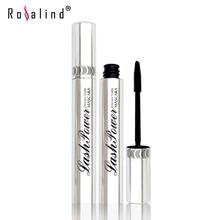 Rosalind Professional Eyes Makeup Lengthen Eyelashes Mascara Black Color Waterproof and Easy Remove Brand M.N(China (Mainland))