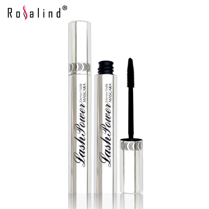 Rosalind Professional Eyes Makeup Lengthen Eyelashes Mascara Black Color Waterproof and Easy Remove Brand M.N(China (Mainland))