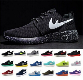 Free Drop shipping 2015 NEW roshe run running shoes, athletic sport fashion walking shoes EUR Men and women size 36-44(China (Mainland))
