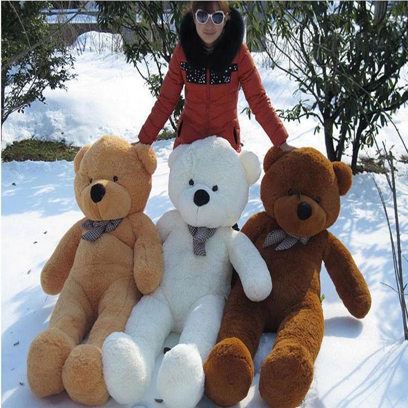 Factory direct sale plush toys Teddy bear is 1.6 meters large Rag Doll Holiday gift wholesale and sale(China (Mainland))