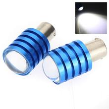 Big Promotion 1156 BA15S Cree Q5 LED 7W White Car Auto Light Source Tail Reverse Backup Brake Lamp Bulb DC12V