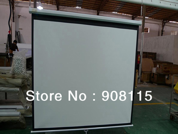 """UK Stock 100"""" Electric Motorised Projection Projector Screen 16:9 HD 3D TV Movie Fast shipping(China (Mainland))"""