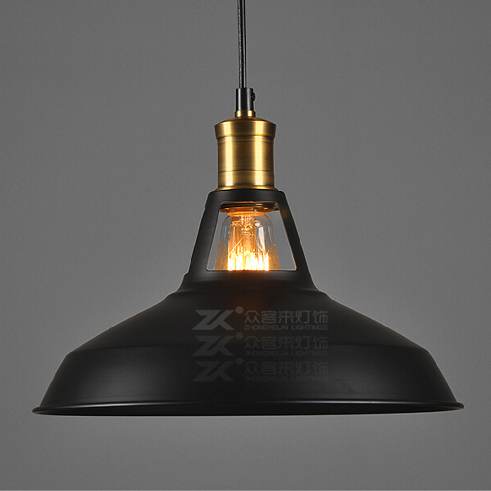 ecopower industrial barn mini metal pendant light 1 light