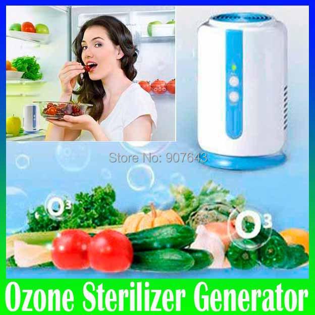 Гаджет  Home Health fridge Fruit Vegetables food shoe wardrobe car O3 Ionizer disinfect Ozone generator Sterilizer Fresh Air Purifier None Бытовая техника