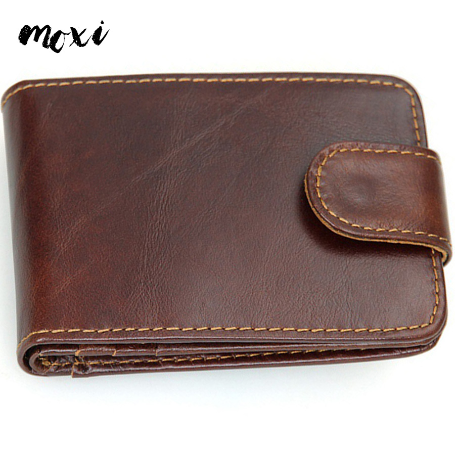 Moxi Genuine Leather ID Card Case Large Capacity Bank Credit Card Wallet Driver License Holder Business Credit Card Holder