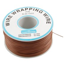 SZS Hot PVC Coated Tin Plated Copper Cable Wrapping Wire 30AWG Cable Reel(China (Mainland))