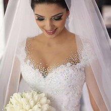 Buy robe de mariage Sexy Ball Gown Princess Plus Size Wedding Dresses 2017 Vintage Bride Gown Ivory Lace Vestido De Noiva Casamento for $189.00 in AliExpress store