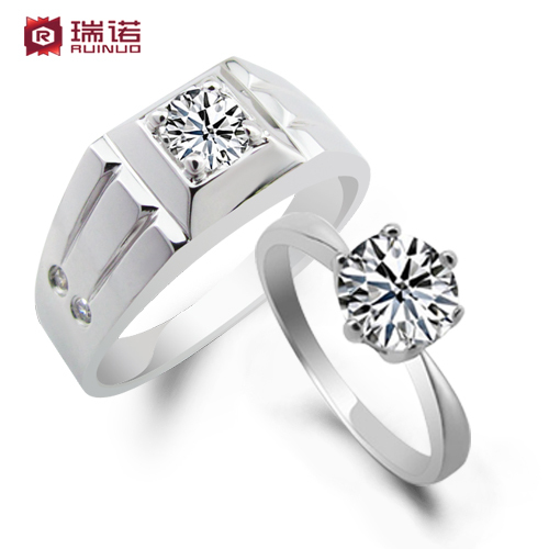2013 wedding rings sterling silver 925 promise rings for couples the wedding jewelry love christmas birthday gift wholesale