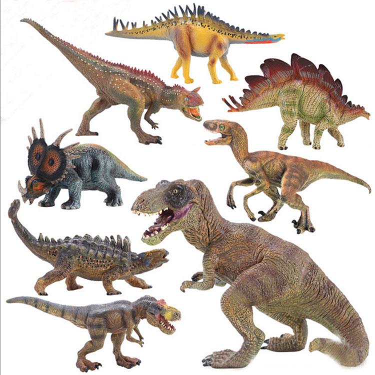 2015 Jurassic World Dinosaur Toy Children Jurassic Park Brachiosaurus Dinosaur Model Toys Boy Tyrannosaurus Rex Dinosaur Toy Set