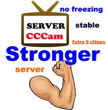 Meilleur CCcam Europe Cline serveur 1 ano compte Satellite décodeur espagne royaume - uni allemagne France italie livraison 3 en1 RCA câble DHL gratuite(China (Mainland))
