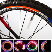 Buy 5 LED Flash Light Mountain Bike Bicycle Motorcycle Tyre Tire Wheel Valve Cap Spoke Lamp Colorful Light Bicycle Accessories for $1.99 in AliExpress store