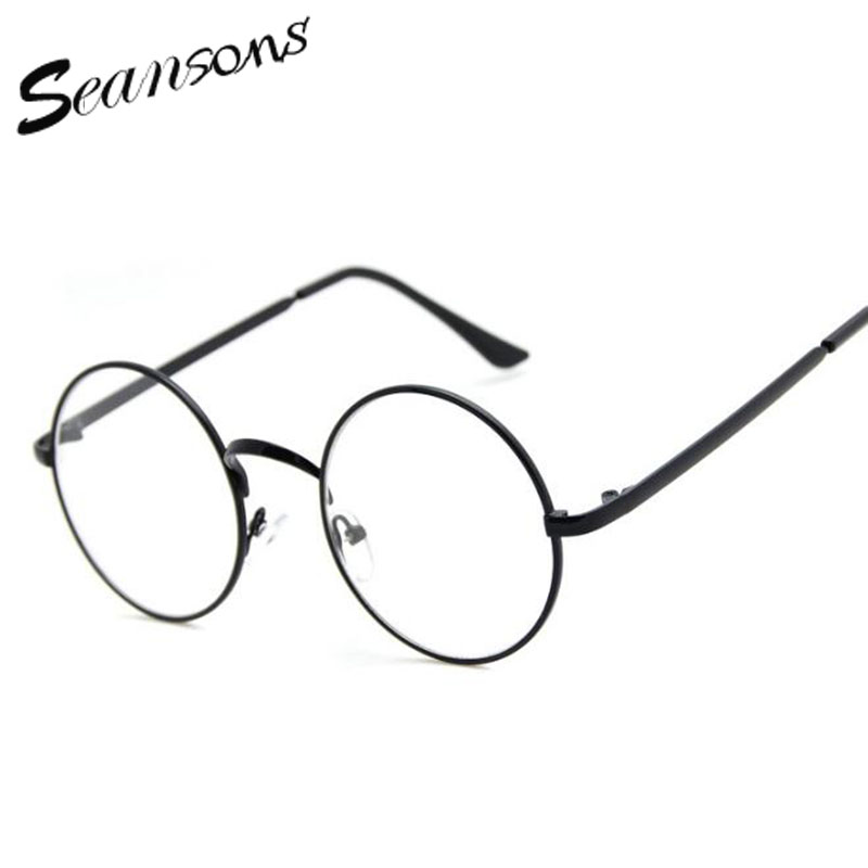2017 fashion harry potter womens clear glasses men gold clear lens glasses frames eye glasses for women eyeglasses spectacles