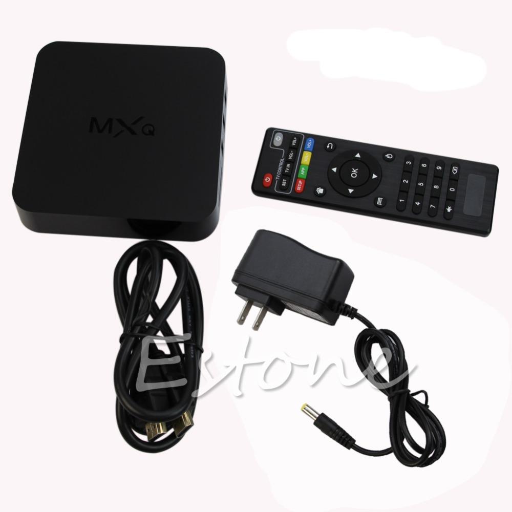 US Plug 1080P WiFi 8GB Smart set TV Box MXQ Amlogic S805 Android 4.4Quad-Core Free Shipping<br><br>Aliexpress