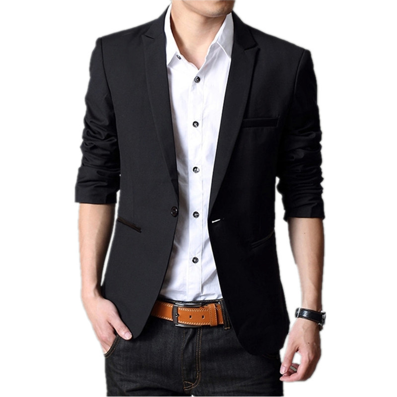Collection Black Blazer For Men Pictures - Reikian