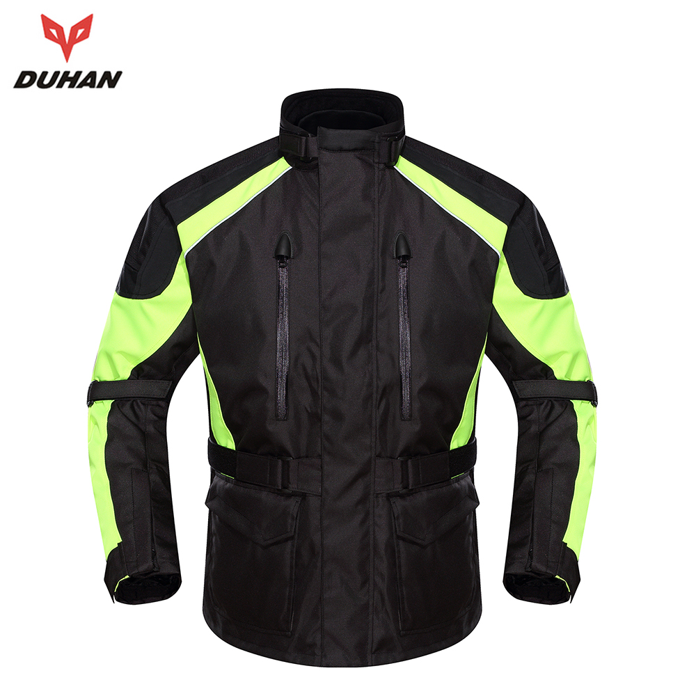 duhan motorcycle waterproof moto jacket clothing men 39 s. Black Bedroom Furniture Sets. Home Design Ideas