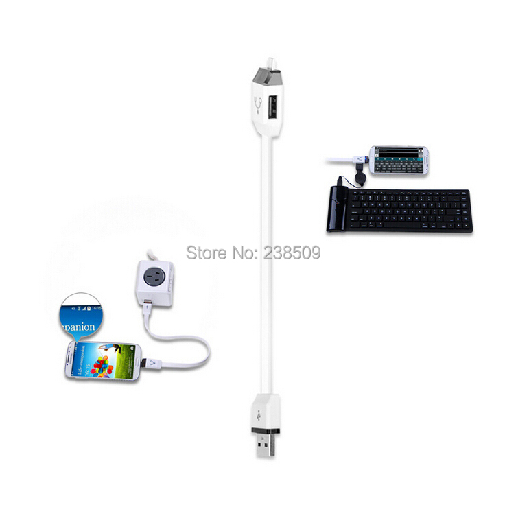 new otg host power splitter y cable usb jack to micro a
