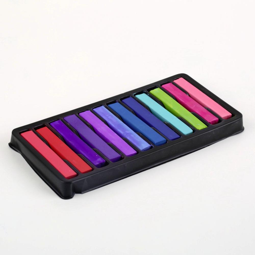 Пастель для волос 12 Colors Hair Chalk 1 12 giz BPC003801