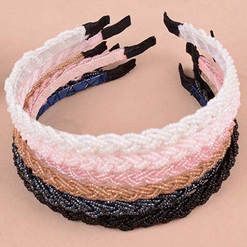 Fashion Rhinestone Crystal Bead Head band Chain Headband Piece Hair Band Hairbands For Girl Women(China (Mainland))