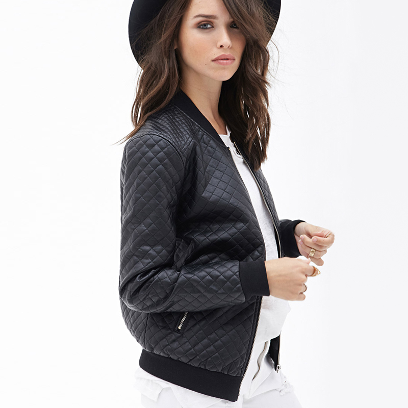 Ladies real leather bomber jacket – Your jacket photo blog