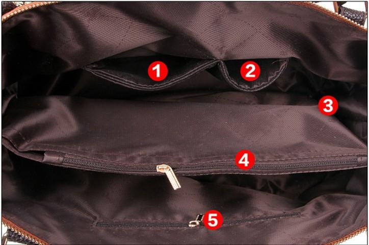 Luxury Women Genuine Leather Handbags Fashion Women Messenger Bags